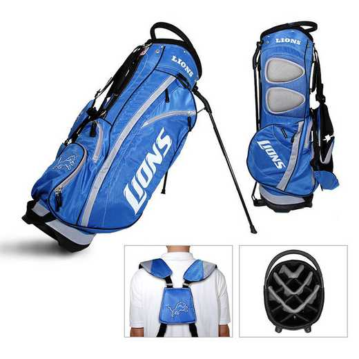 30928: Fairway Golf Stand Bag Detroit Lions